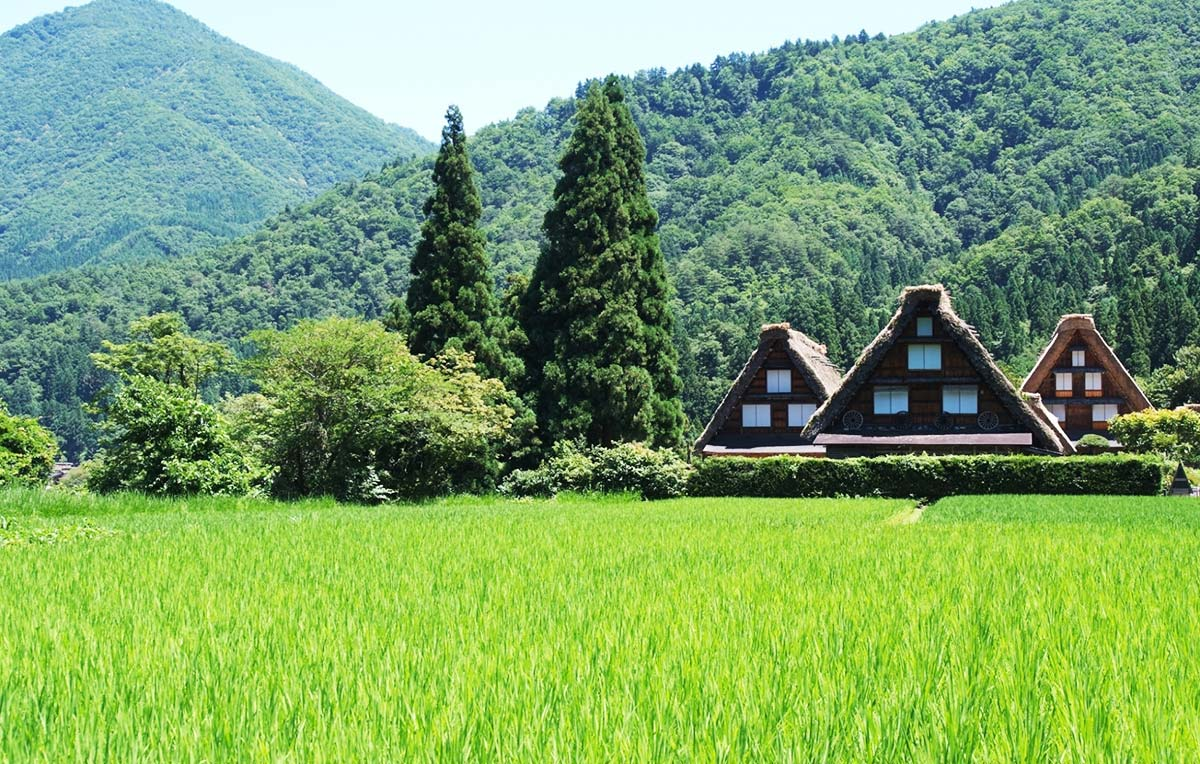 World Heritage Site Shirakawa-go